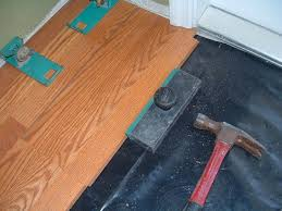 Harmonics Laminate Flooring Installation, I Installed A Couple Of Rows Into  The Hallway From The