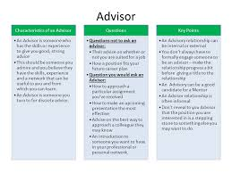 Why Would You Be A Good Candidate The Advisor Mentor And Sponsor Have Them All Who Is Kevin Ppt