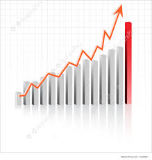 Illustration Of Profit In Business Graph
