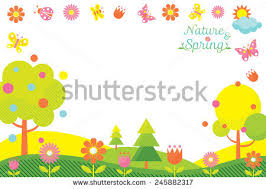 spring season stock images royalty images vectors spring season icons frame