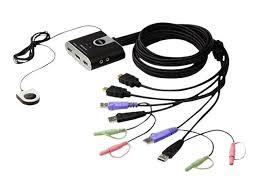 aten cs692 2 port usb hd audio video kvm switch comms express