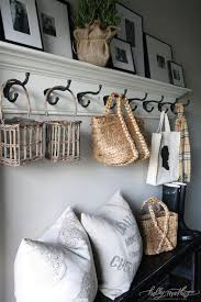 Row Of Hooks Coat Rack Holly Mathis Interiors Sweet cottage mudroom design collection of 57
