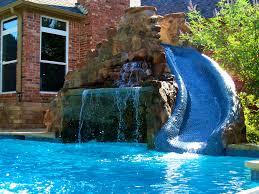 Diy Pool Waterfall Interior Agreeable Pool Waterfall Problemcustom Builder