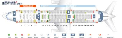 Boeing 777 200 Seating Chart