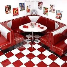 dining booth furniture. Retro Dining Booth Corner Diner Sets Furniture  . A