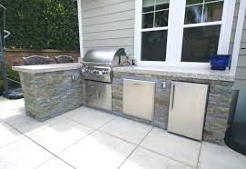 kitchen island beautiful prefab outdoor grill islands backyard guest house home styles monarch with granite top