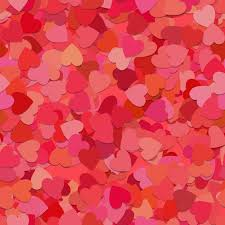 Heart Pattern Enchanting Seamless Random Heart Pattern Background Vector Free Download
