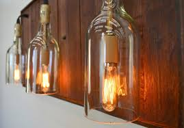 Wine Bottle Light Fixture Wine Country Craftsman Official Site