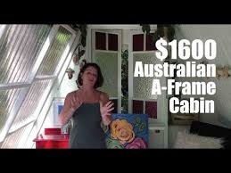 1600 a frame she shed tiny house in