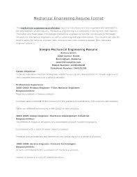 Best It Resume Format Mesmerizing Resume Formats For Engineers Professional Sample Resume Format