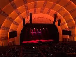 Radio City Music Hall Section 2nd Mezzanine 6 Row B Seat