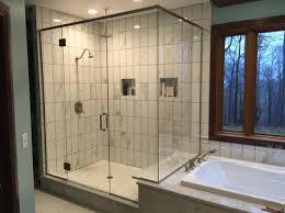 glass shower enclosures at talbott glass in elkins wv