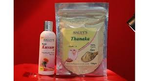 thanaka powder grade a 200 gm and kusumba oil 200 ml for permanent hair removal