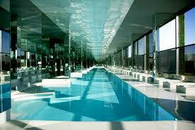 indoor pool house. Basement Pool House. Decorations, Narrow Designs Swimming House Home Floor Plan Plans L Indoor