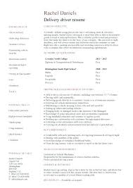Sample Resume For Delivery Driver Tow Truck Driver Resume Resume