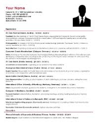 Consulting Resume Templates Consulting Cv Download Your Consulting Resume Template For Free