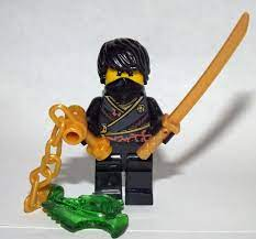 Cole Rebooted ninjago Custom minifigure movie building toy figure tv show  toy