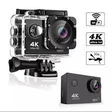 Camera hành trình chống nước chống rung 4K SPORT Ultra HD DV, kết nối wifi  - CAMERA HÀNH TRÌNH XE MÁY WIFI - Camera hành trình - Action camera và phụ  kiện