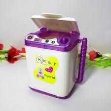 Doll Accessories Display Furniture Washing Machine Water dispenser