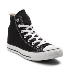 converse shoes high tops black. alternate view: converse chuck taylor all star hi sneaker - black shoes high tops