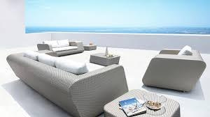 outdoor furniture pe rattan sofa