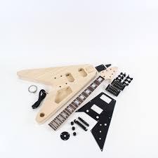 gibson flying v style guitar kit