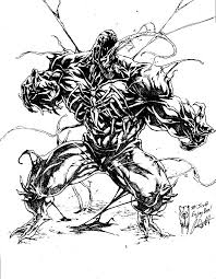Print them all for free. Venom Coloring Pages By Profoundrounds On Deviantart