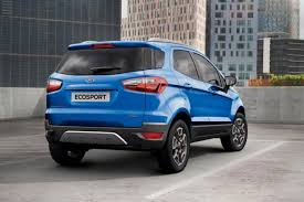 2018 ford ecosport. simple ford 2018 ford ecosport rear and ford ecosport e