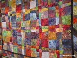 22 best Quilting - Stack and slash images on Pinterest | Block ... & a scrappy batik, stack and slash quilt I made. 10 inch squares, stacked Adamdwight.com