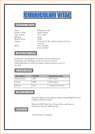 Profile On A Resume Example  Resume CV Cover Letter