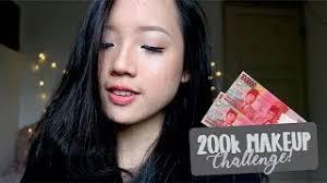 200k makeup challenge bahasa indonesia irene ve