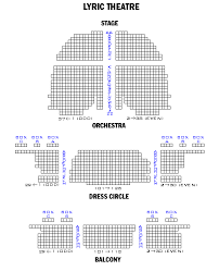 Harry Potter Broadway Seating Chart Lyric Theatre Playbill