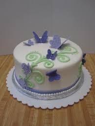 Purple Butterfly Birthday Cake Cakecentralcom