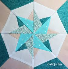 Woven Star Block photo-paper piecing using freezer paper ... & Woven Star Quilt Block photo-paper piecing using freezer paper Adamdwight.com