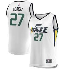 Edition - Branded Association Jersey Men's Gobert White Utah Rudy Fanatics Fast Jazz Break