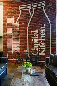 The Brick Dining Room Sets Wood Interior Walls Design Waplag Kitchen Brick Wall Tiles With