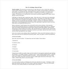 Writing A Research Paper Outline 8 Research Paper Outline Templates Free Sample Example