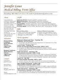 Use This As A Sample Resume Medical Billing Resume Career Work
