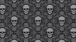Skull Pattern Wallpaper 15489