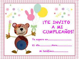 Tarjetas De Cumpleanos De Ninas Propuestas De Invitaciones De Cumpleaños Para Niños Con El