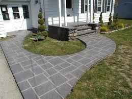 modern concrete patio designs. Home Design : Backyard Stamped Concrete Patio Ideas Wallpaper . Modern Designs