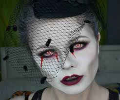 dead widow makeup tutorial
