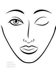bol makeup face chart portfolio 9781495247088 sarie smith boeken