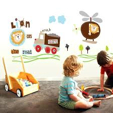 Daycare Wall Decals Playroom Monkeys Wall Decals Space Kids Design