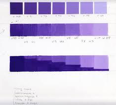 Violet Colour Chart Color Chart Violet Gias Color Study