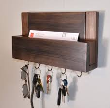 letter key holder wall mount contemporary mounted mail organizer with regard to mail and key rack prepare