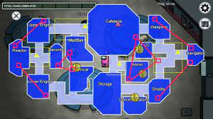 Among Us The Skeld map guide