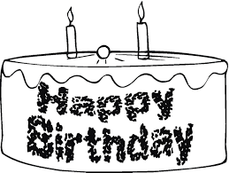 Small Picture Happy Birthday Cake Coloring Page Birthday Coloring pages of