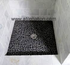 littleton marble shower with natural stone tile shower pan walk in shower ideas