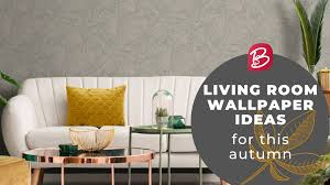 living room wallpaper ideas for this